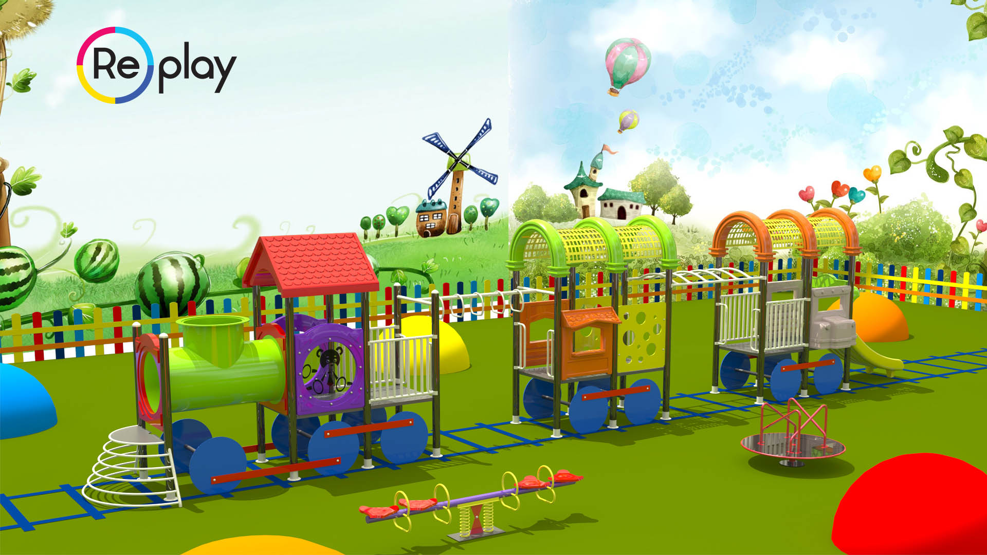 Best Customized and Themed Playground Ideas, Designs
