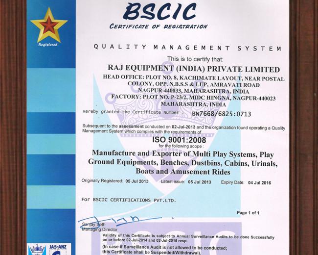 Bscic certificate of registration