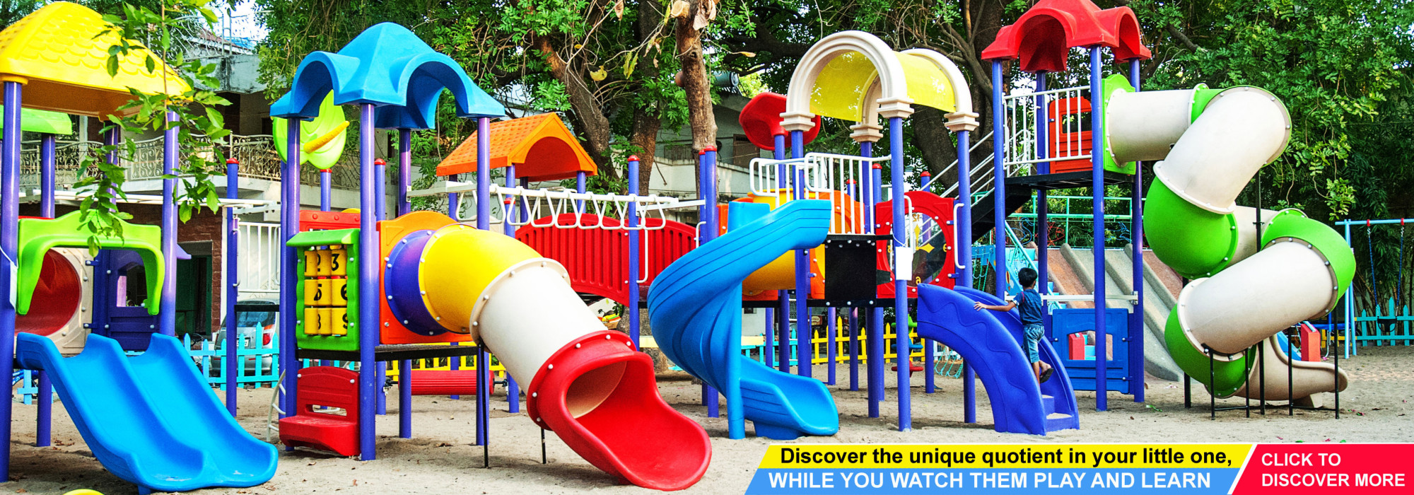 Playground equipment manufacturer and supplier in India