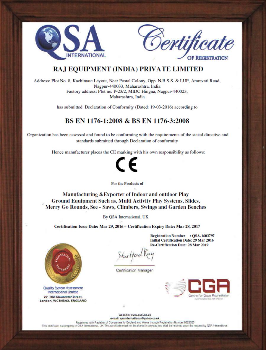 Certification of Registration