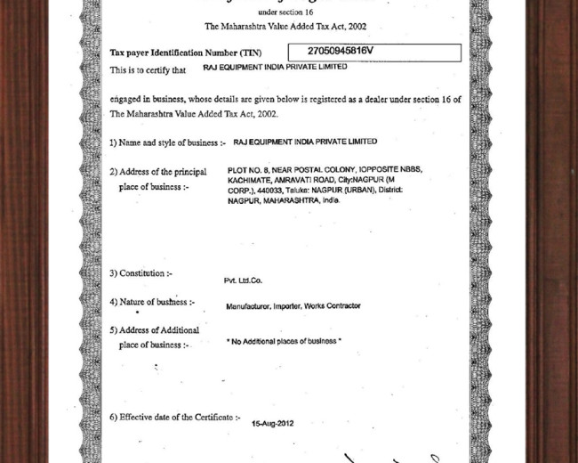 QSA Certificate