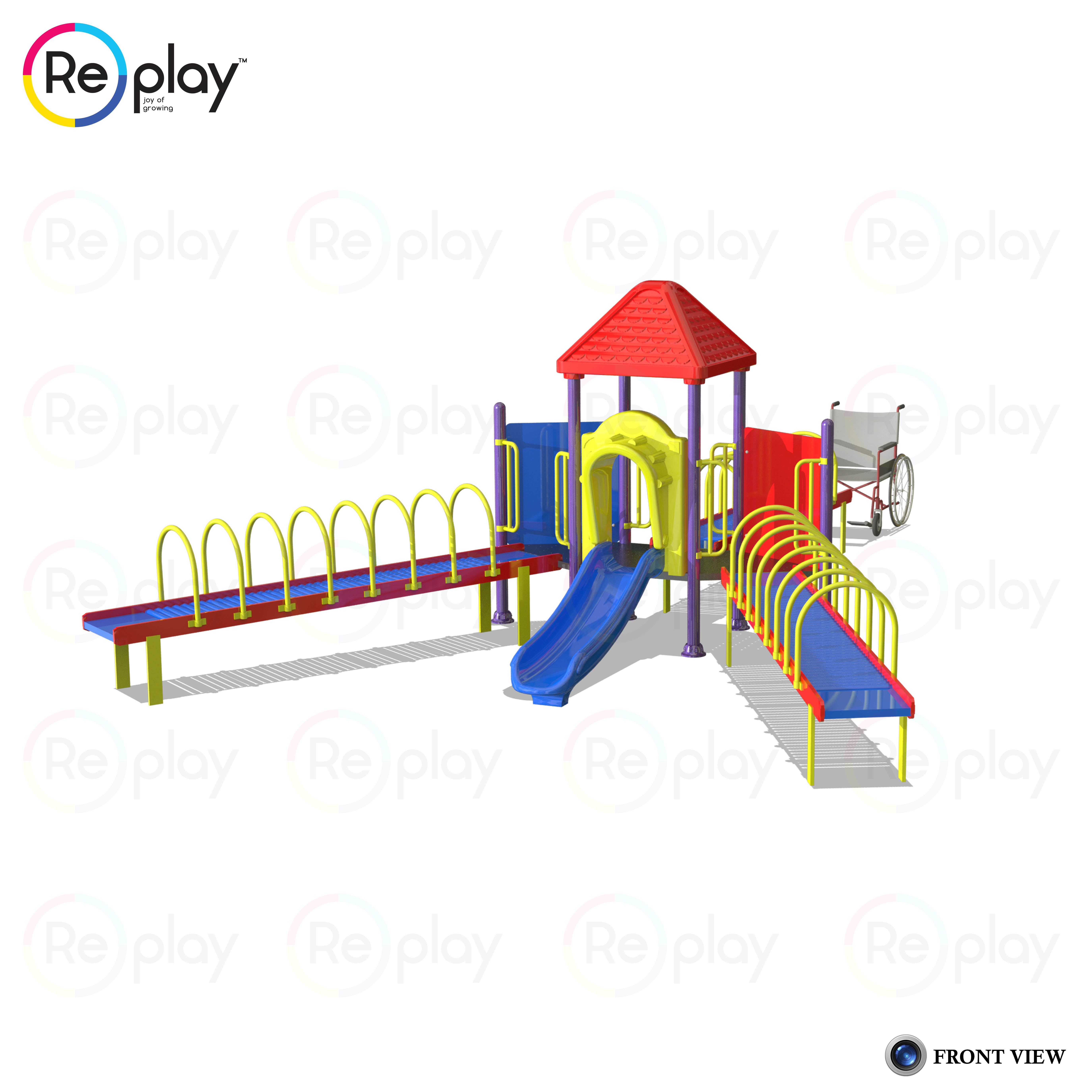 Specially-abled Playground Equipment1