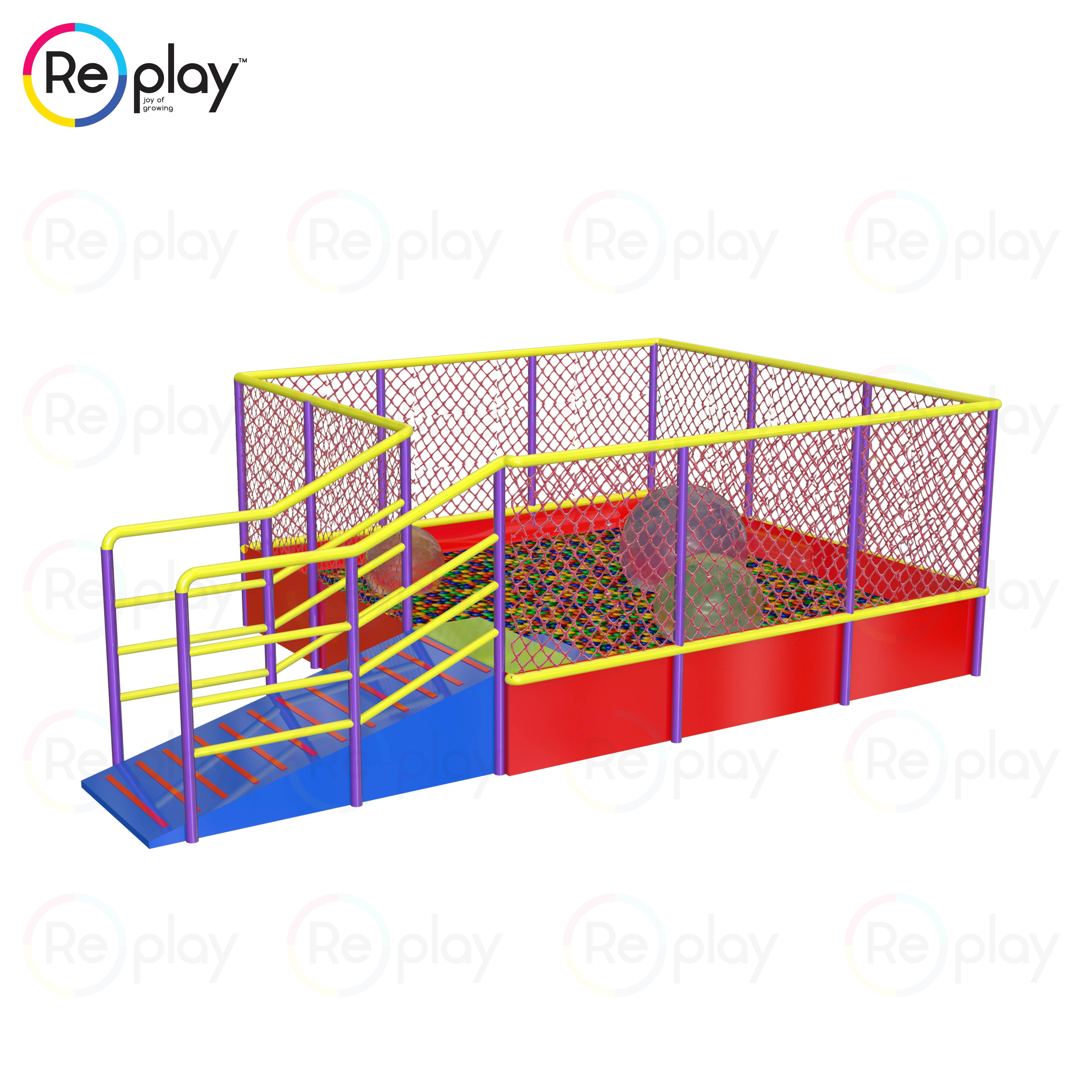 Ball Pool - Crawling Tunnel3 - specially abled playground equipment