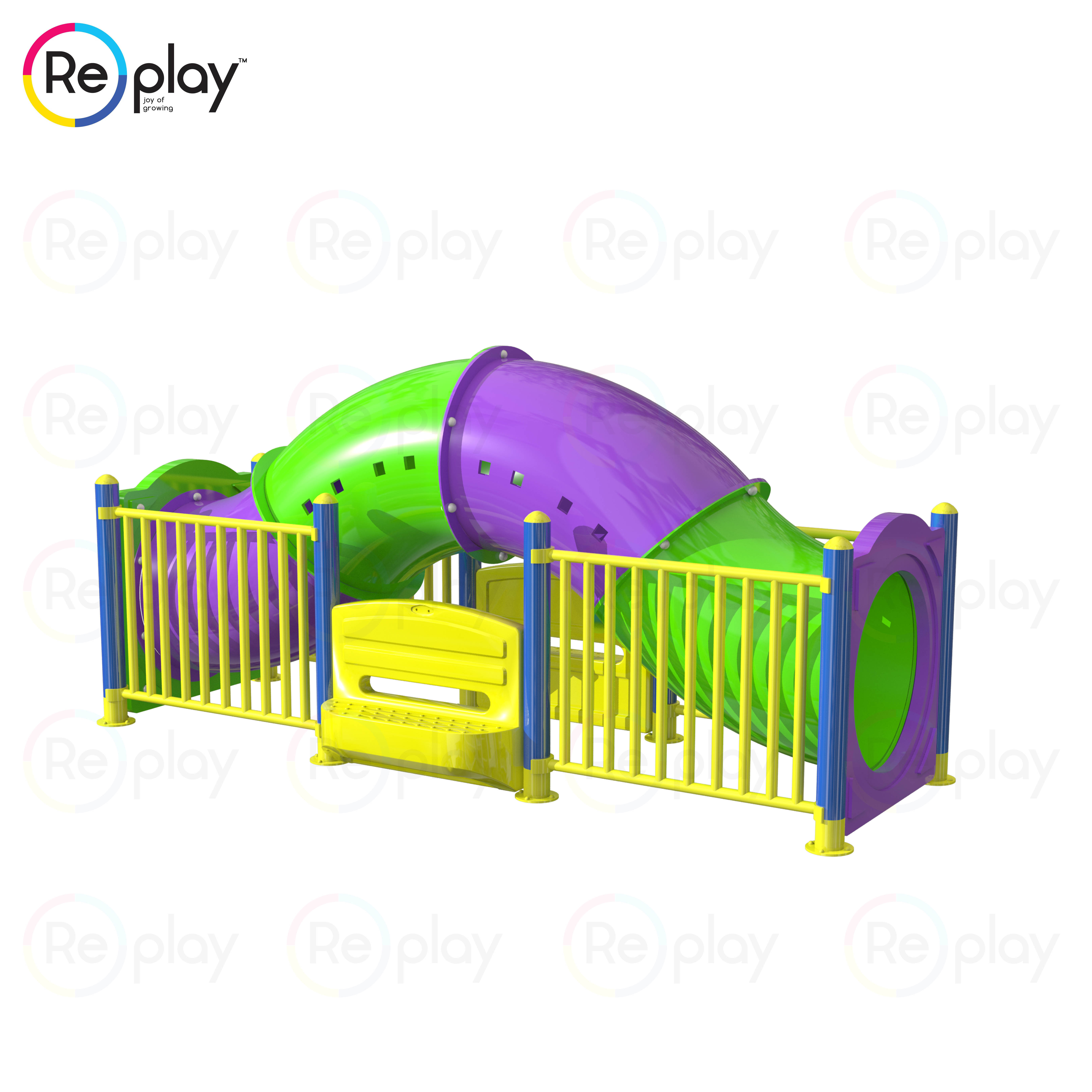 Crawling Tunnel2 - specially abled playground equipment