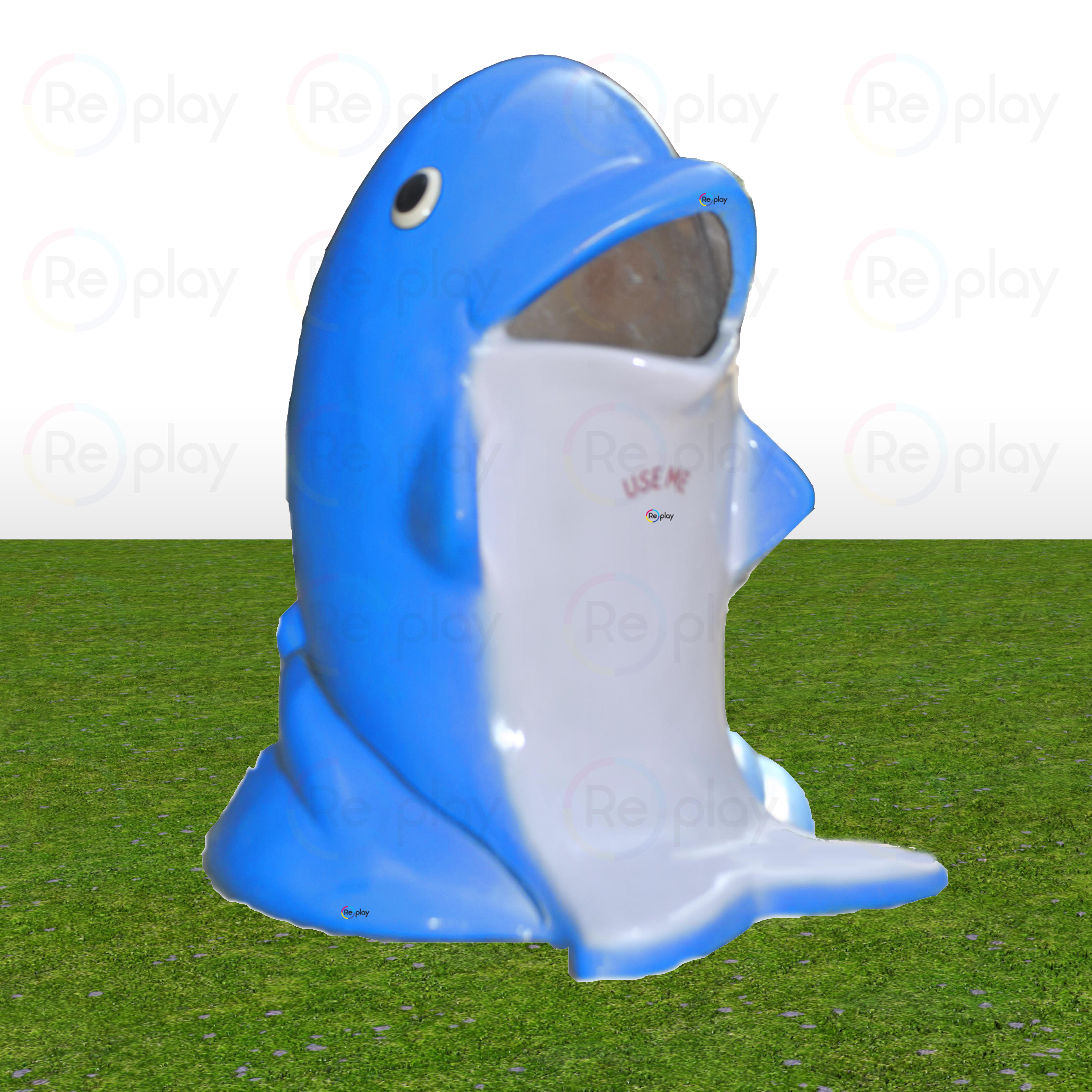 Fancy Dolphin Dustbin