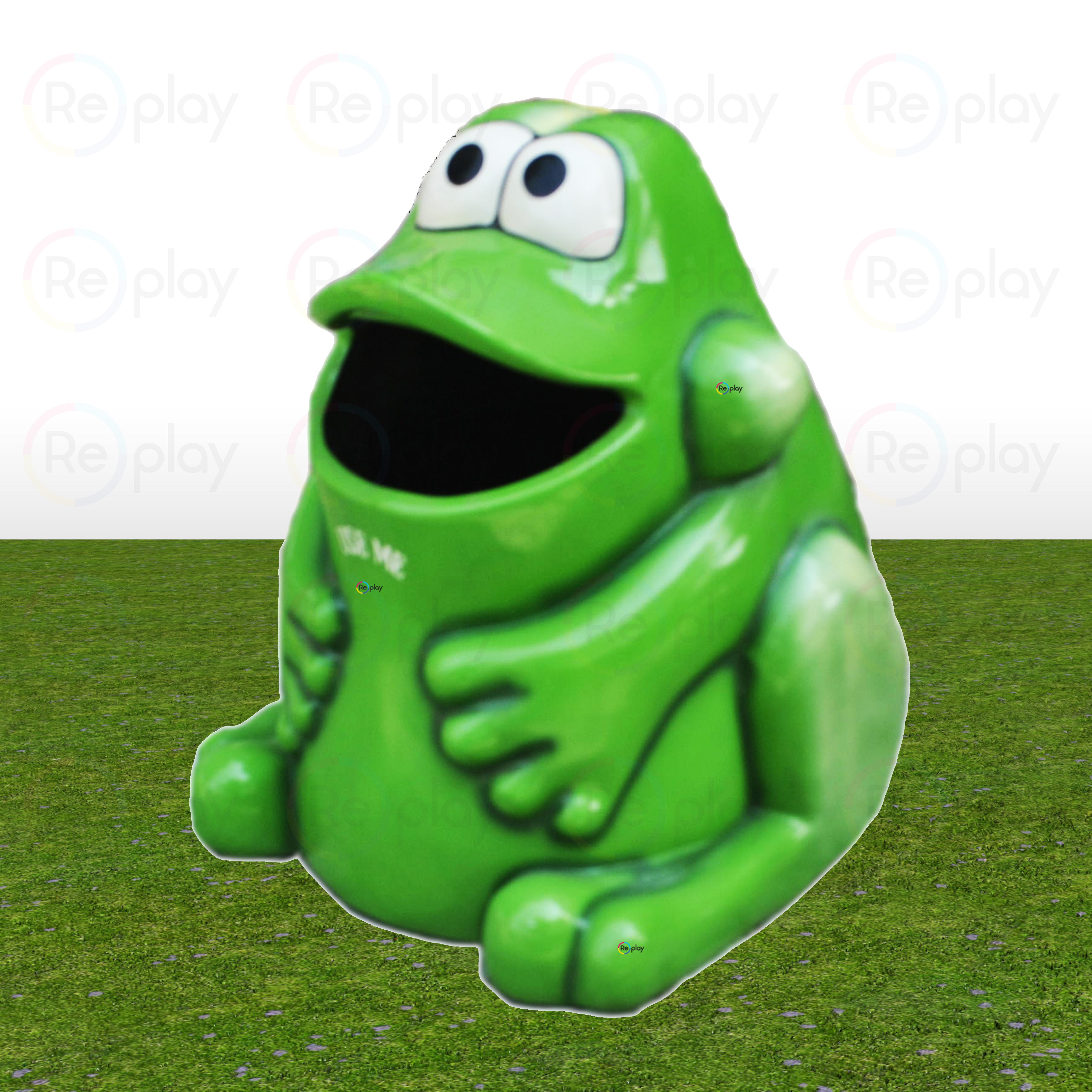Fancy frog Dustbin