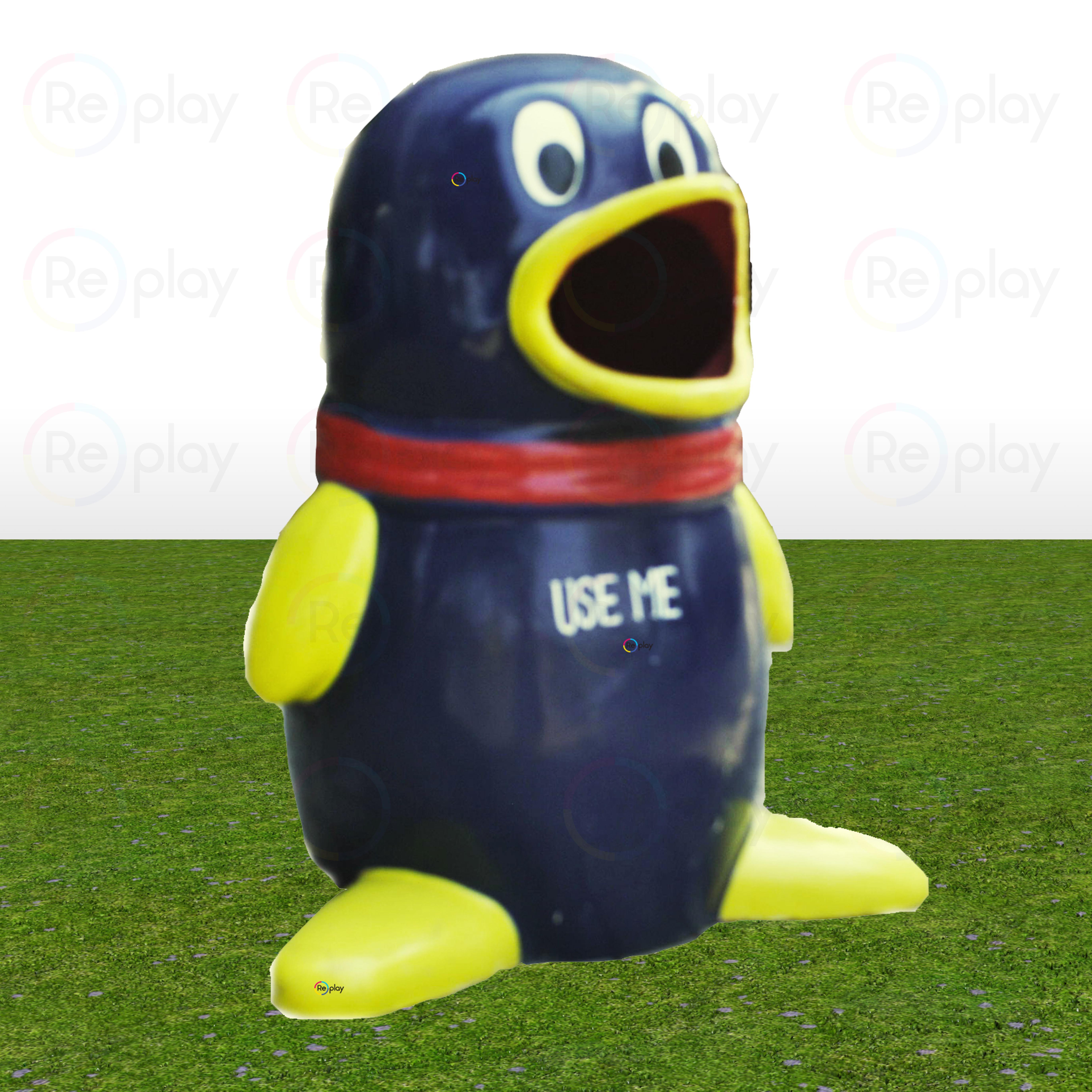 Fancy Mini Penguin Dustbin