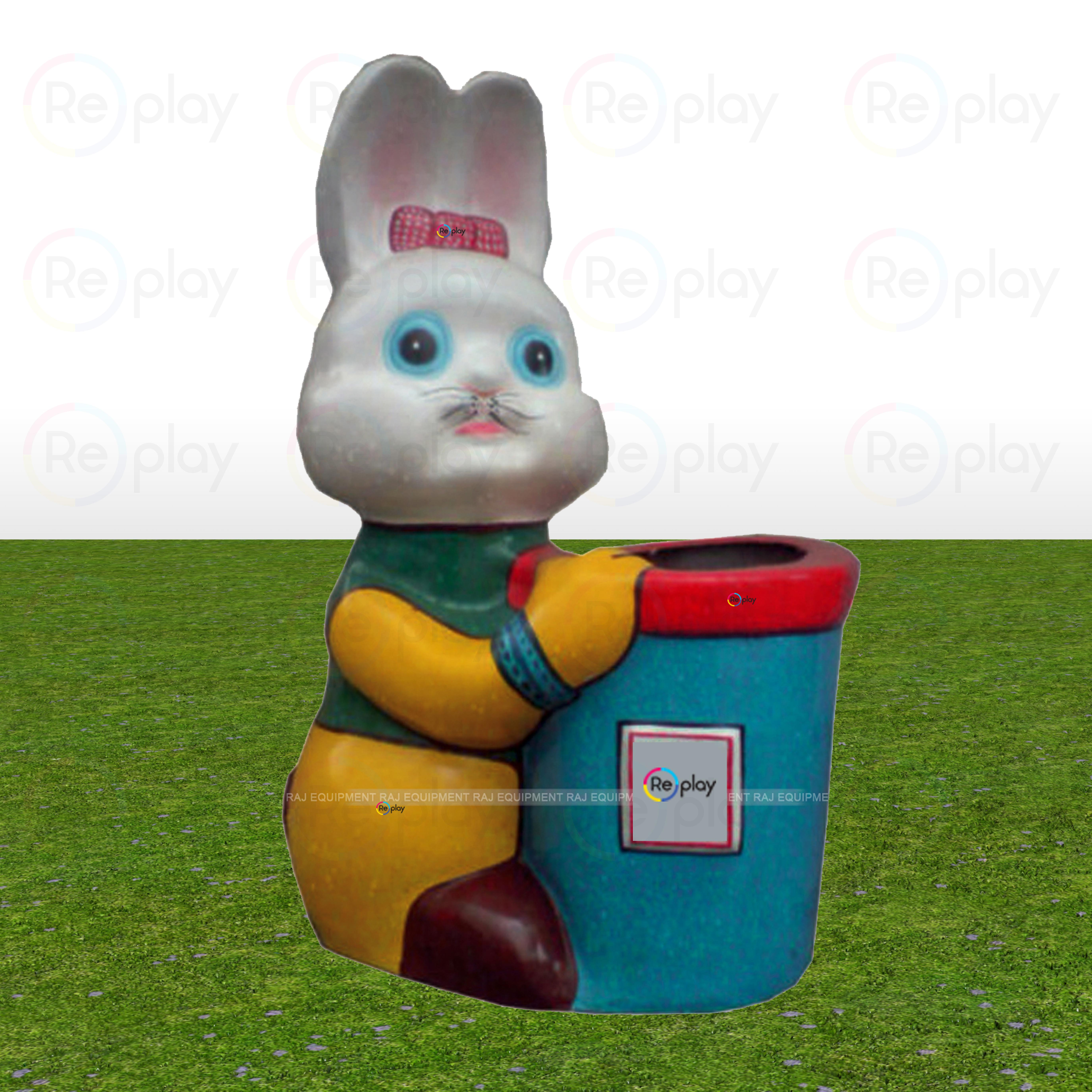 Fancy Mini Rabbit Dustbin