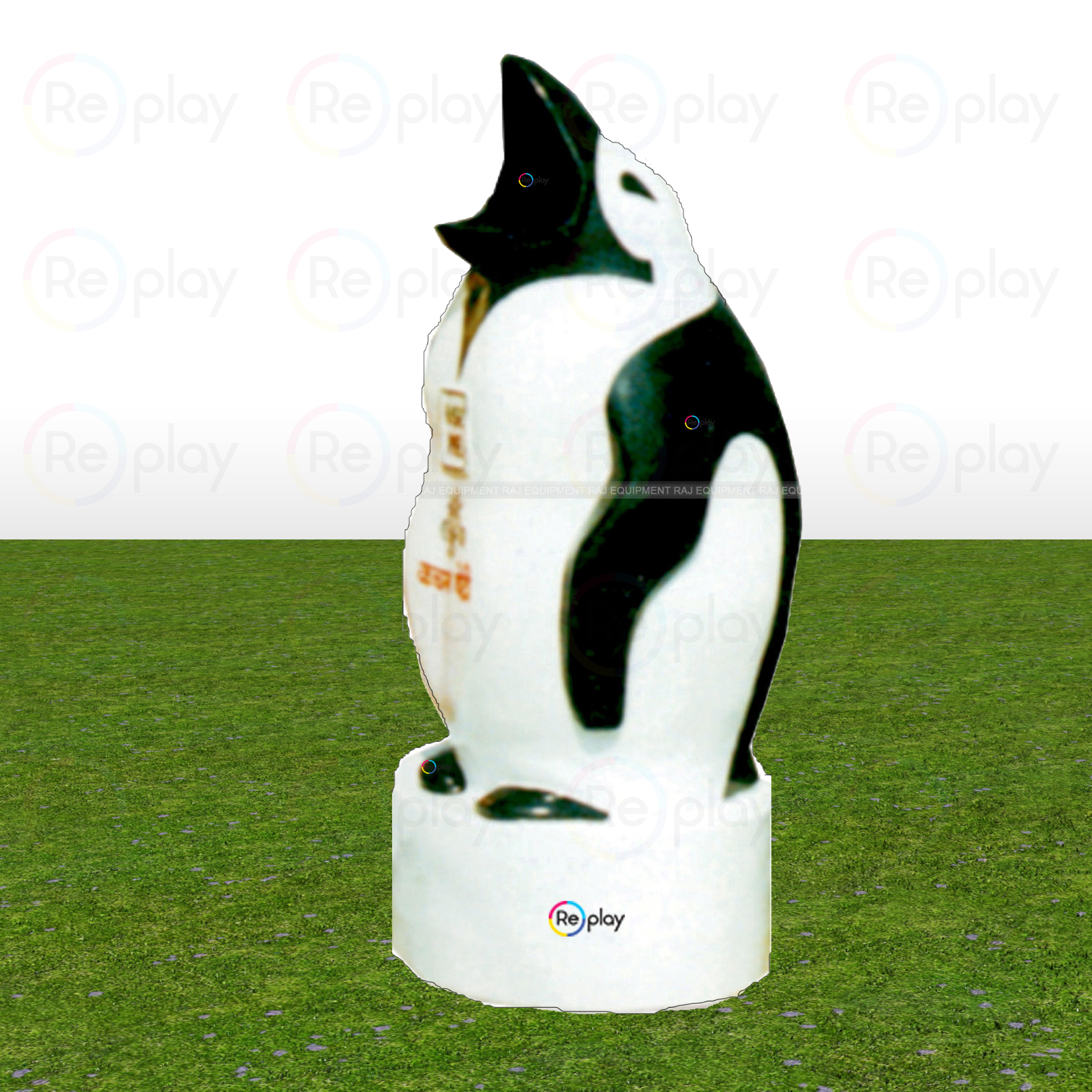 Fancy Open Mouth Penguin Dustbin