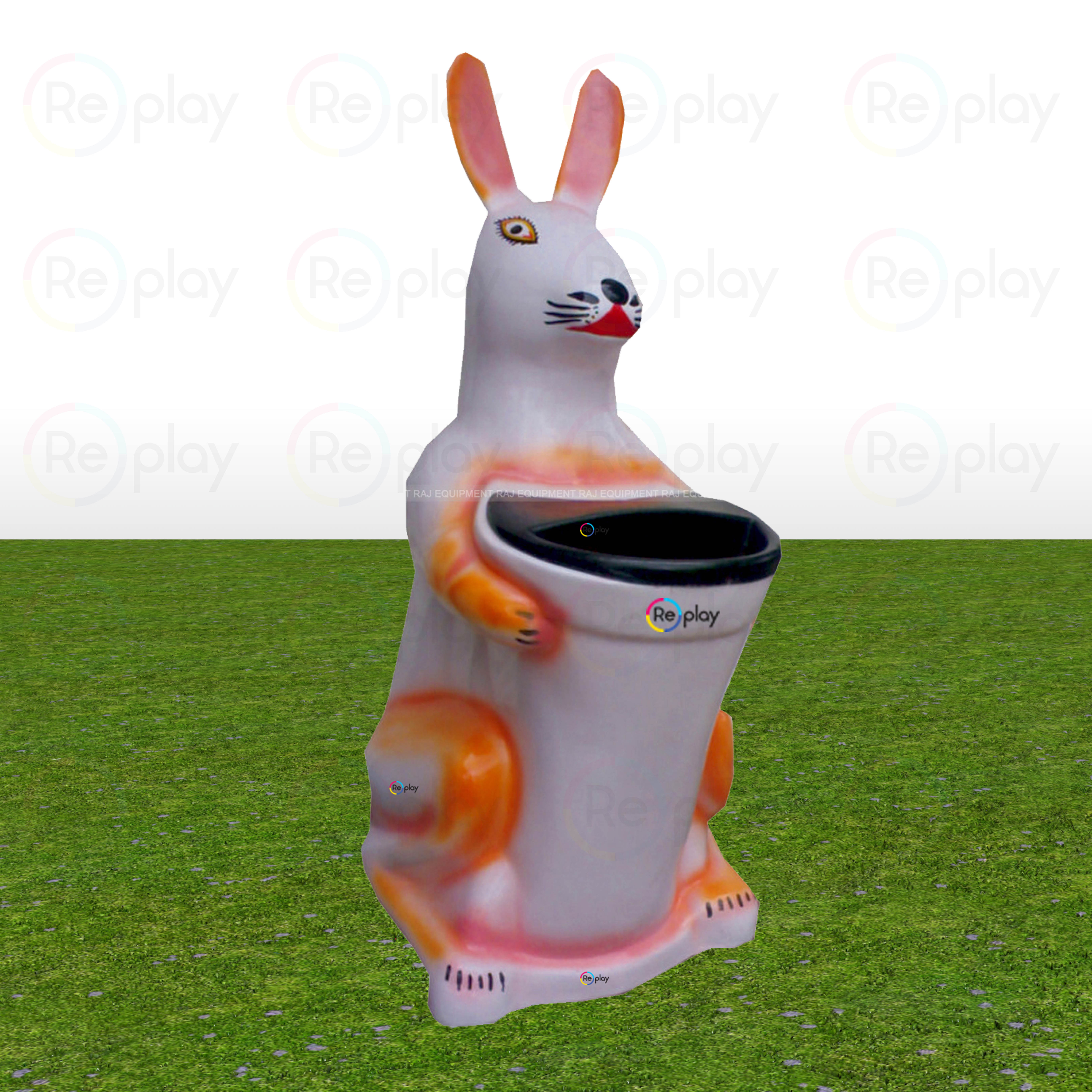 Fancy Rabbit Dustbin