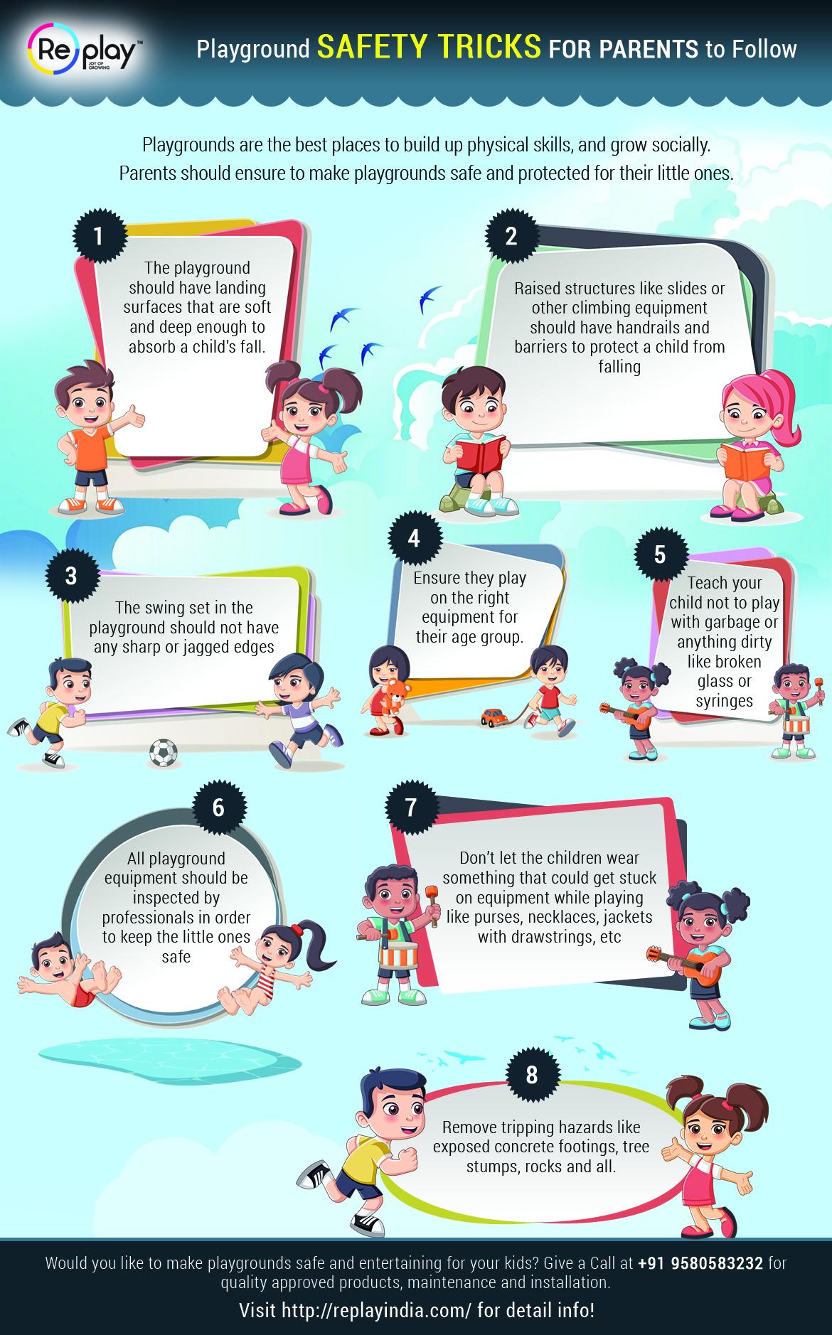 Playground Safety Tricks