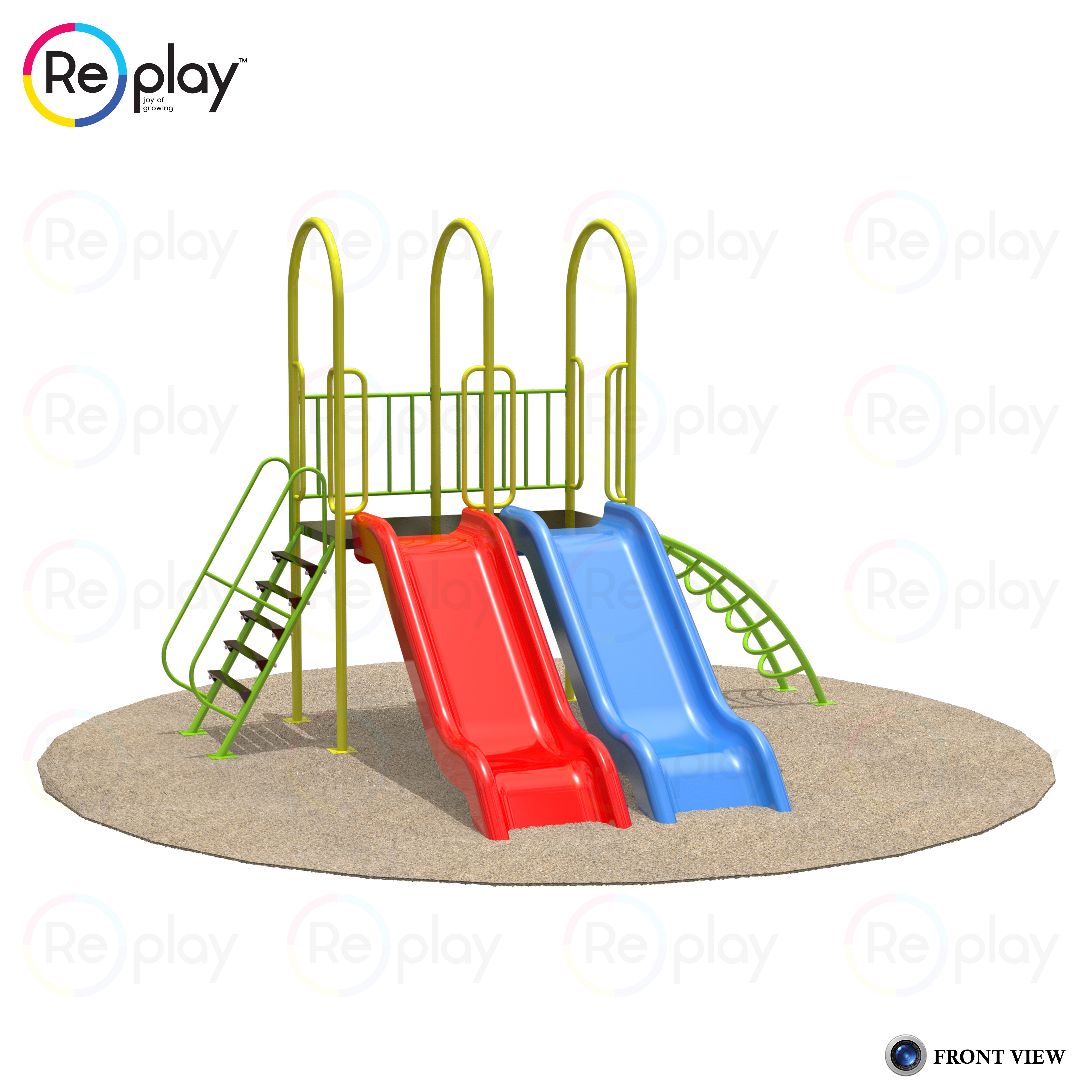 DOUBLE SLIDE MULTI PLAY SYSTEM