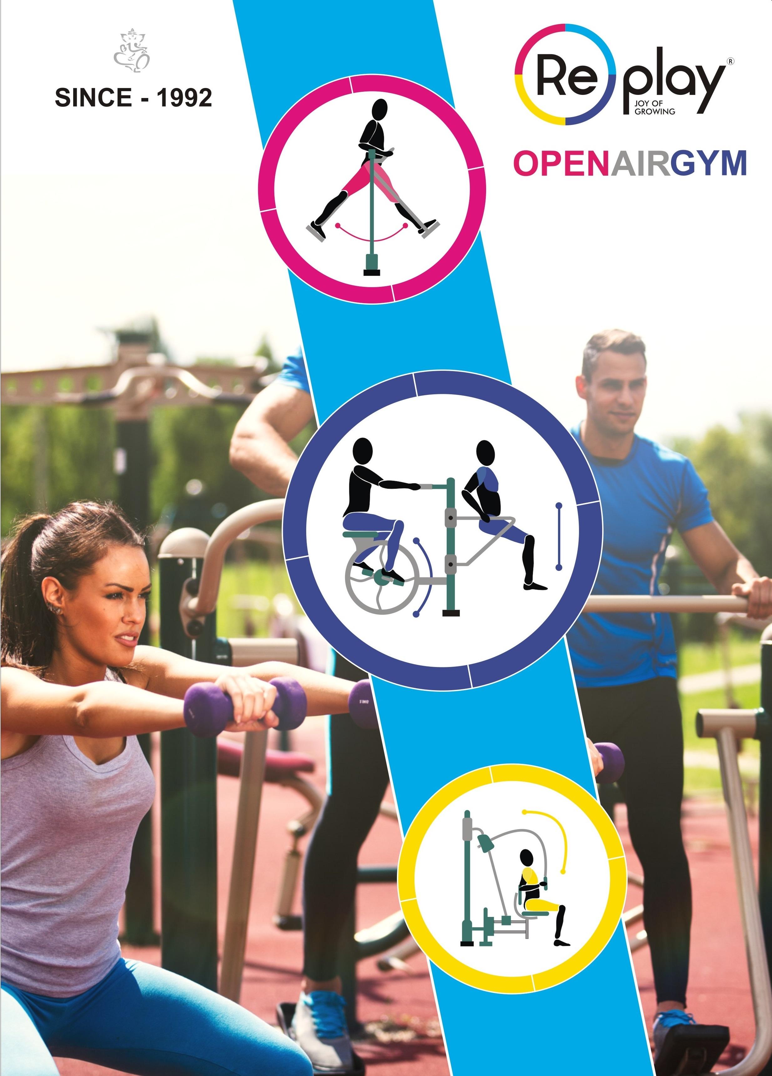 multi-generational outdoor gym