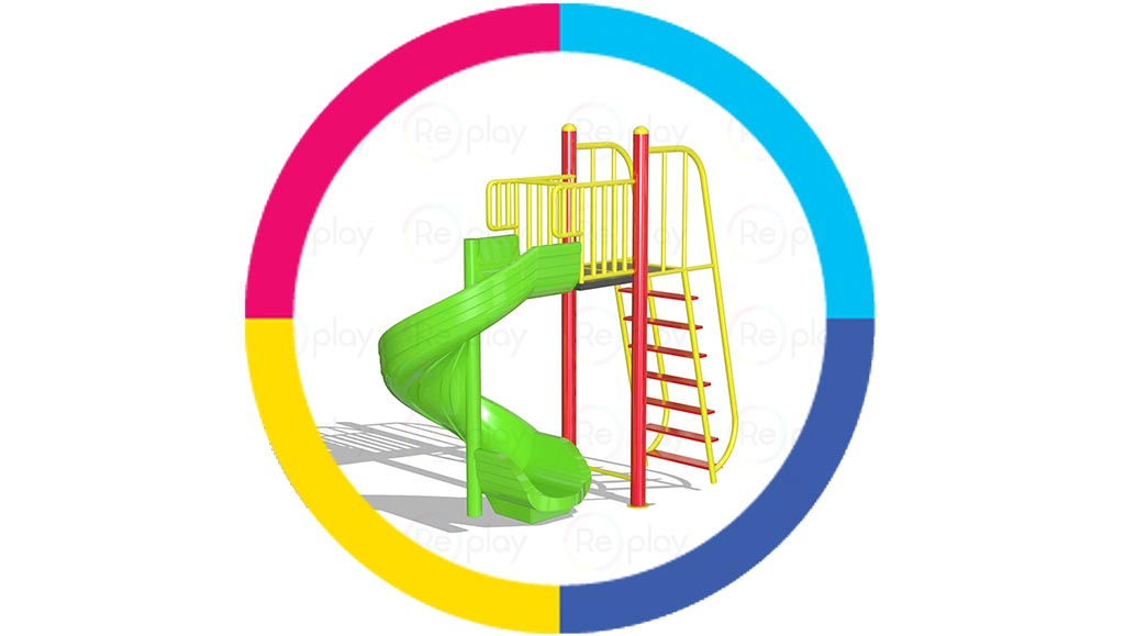 Standalone-slider-for-schools-and-playgrounds
