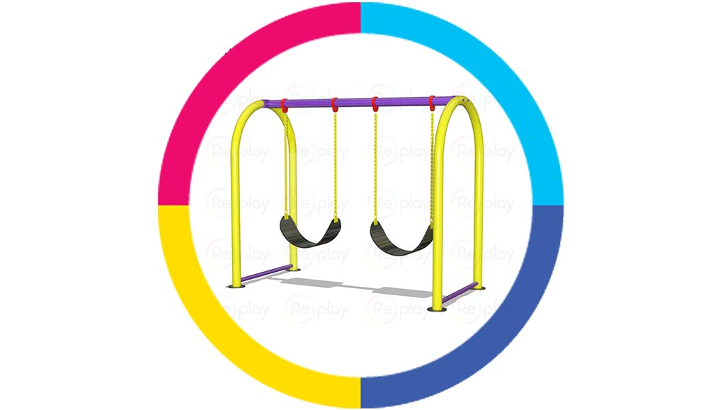 Standalone-swing-for-schools-and-playgrounds