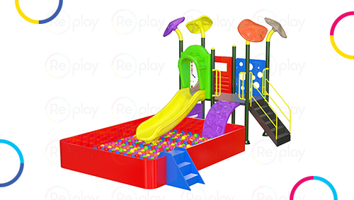 Indoor Playground Equipments for school, preschools, daycares.