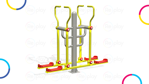 Open gym equipments for parks and gardens in India