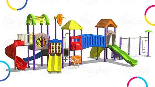 Outdoor Playground Equipments for school, preschools, parks and gardens