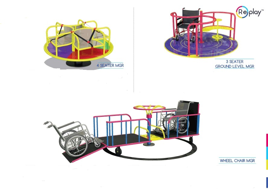 Inclusive Playground Equipment for Children with Disabilities